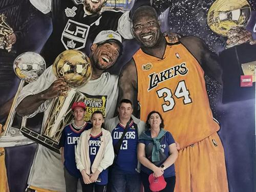 Fresque Staples Center