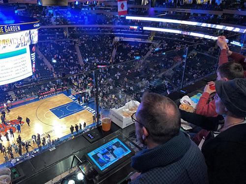 Vue du Madison Square Garden